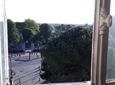 Le Port-Marly de ma fenêtre