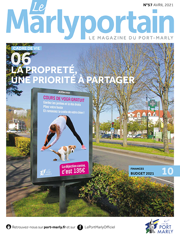 Le Marlyportain d'avril 2021