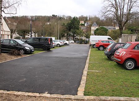 Accès parkings